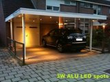 carport inbouwspot LED dimbaar 3 Watt