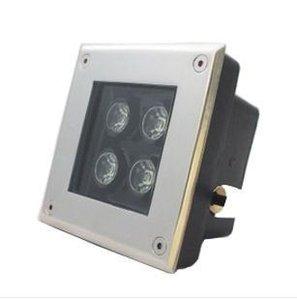 Grondspot RVS vierkant 4 Watt