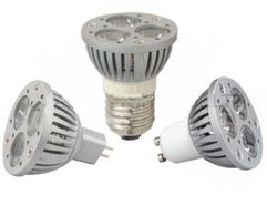 LED fittingspot E27 GU 10 MR 16